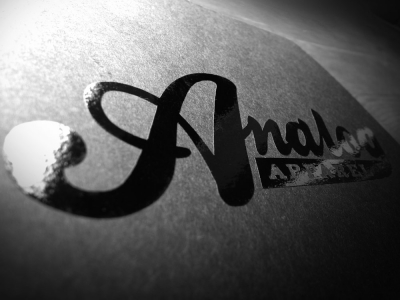 Analog Logo Decal